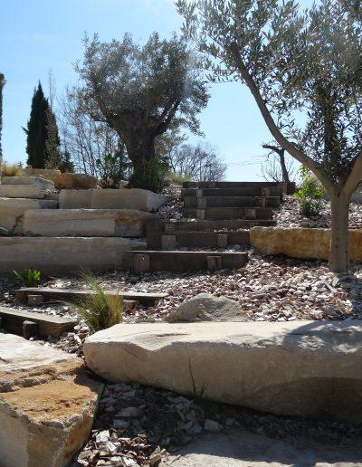 jardin de rocaille dordogne