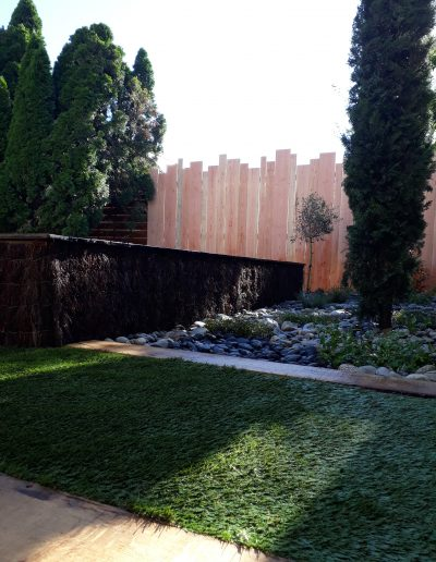 décoration paysagère d'une piscine à périgueux