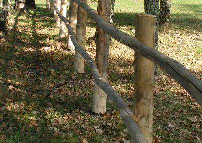 barrière bois dordogne