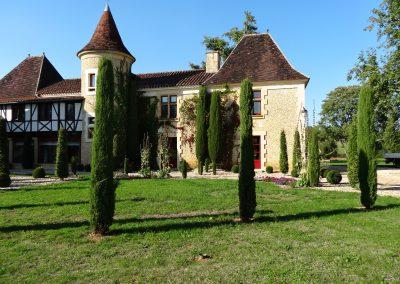 aménagement parc de château