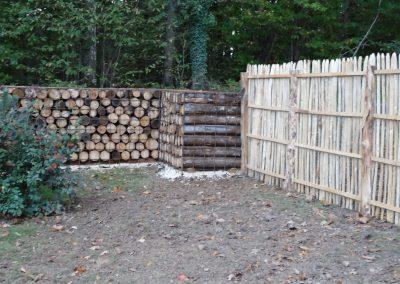 clôture bois perigueux