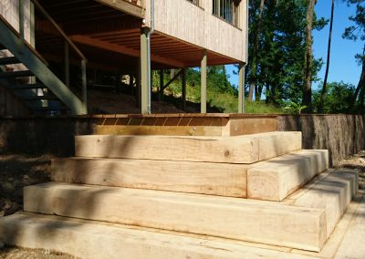 escalier jardin dordogne