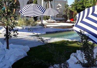 Aménagement paysager piscine Périgueux