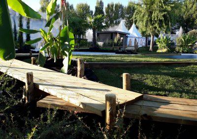 Aménagement paysager piscine Dordogne