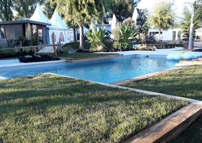 Décoration piscine en Dordogne