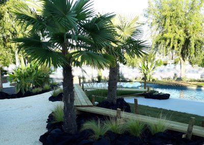 Jardin piscine Dordogne